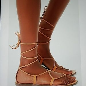 NEW! Leather Gladiator sandals